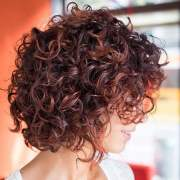 curly bob hairstyles women