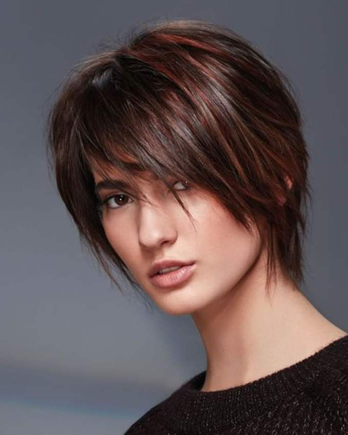hey ladies! best 13 short haircuts for round faces inspirations you