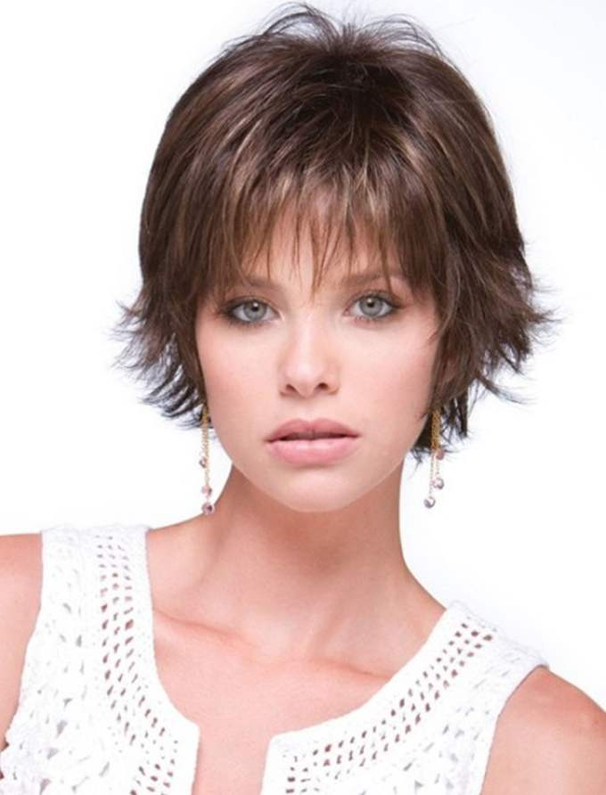 short haircuts for round face thin hair ideas for 2018 – page 4