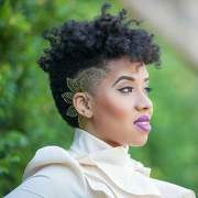 undercut hair design female