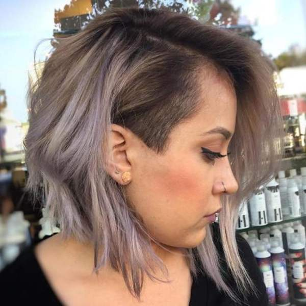 30 Shaved Sides Medium Length Hairstyles Hairstyles Ideas Walk