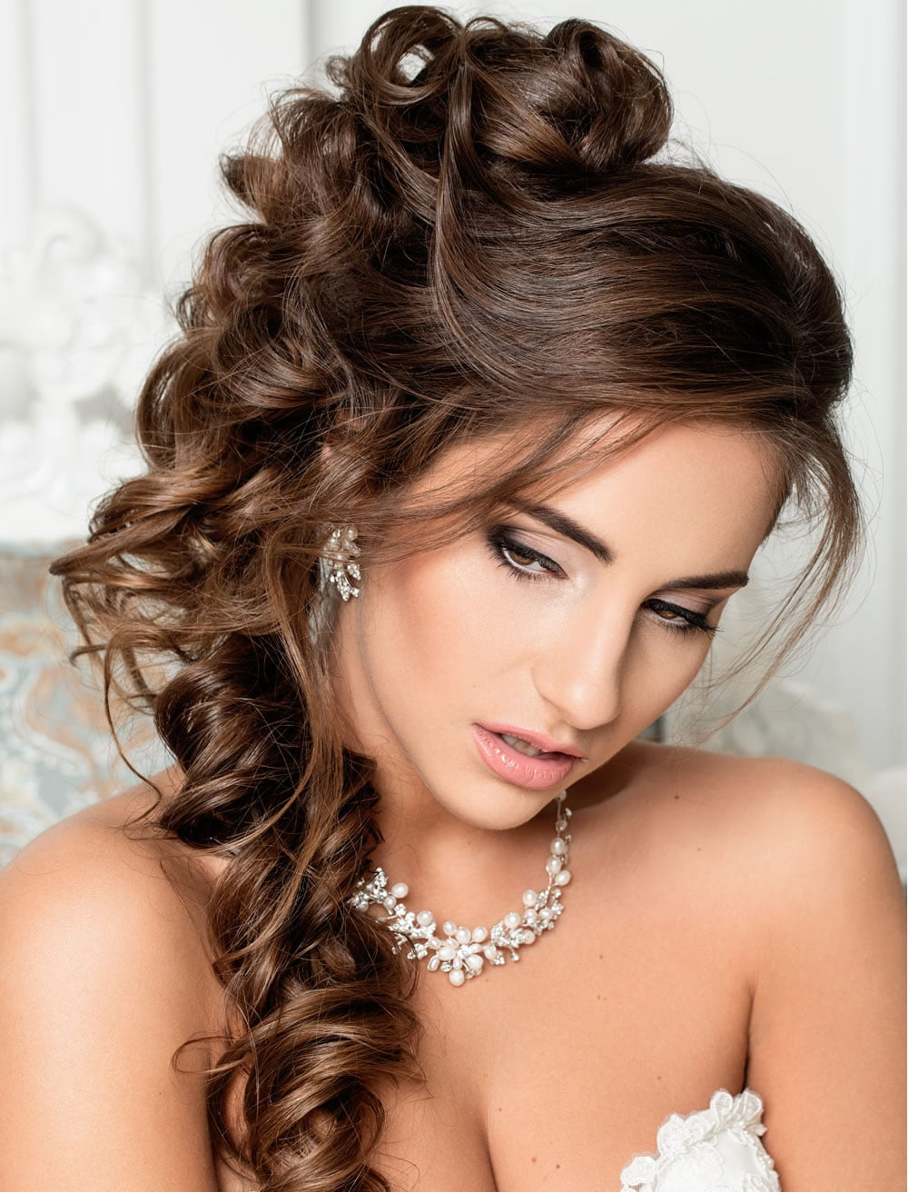 Very Stylish Wedding Hairstyles for Long Hair 2018