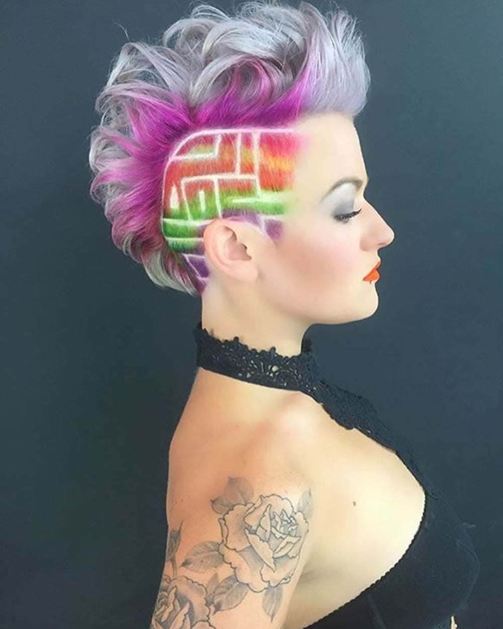 2018 Extreme Hairstyles and Haircuts for Women  HAIRSTYLES