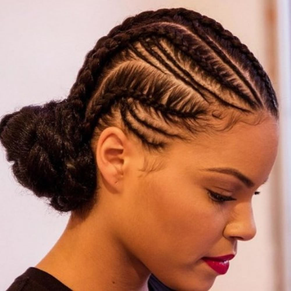 Cornrow Hairstyles for Black Women 20182019  Page 5