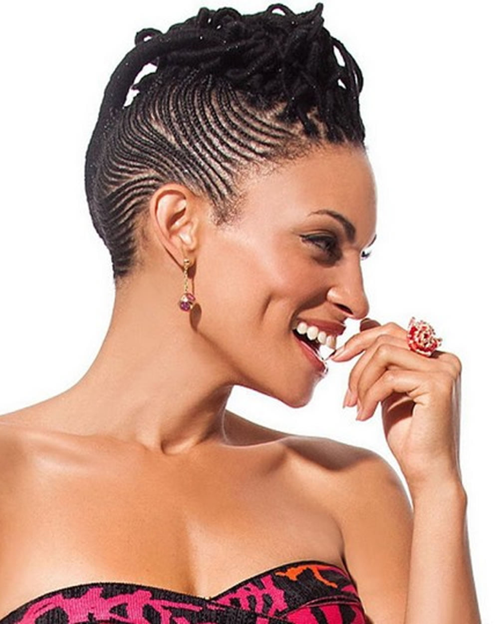 Cornrow Hairstyles for Black Women 20182019  Page 4