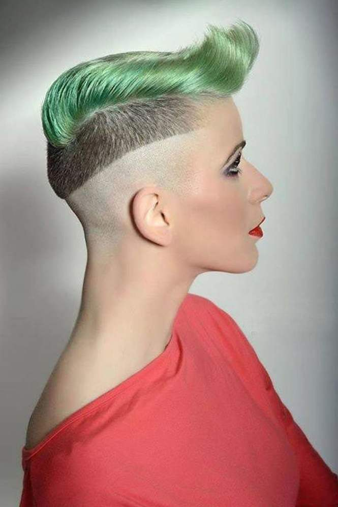 Extreme Short Haircuts - The Best Haircut Of 10