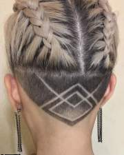 womens shaved nape haircuts