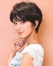 pixie haircuts asian women