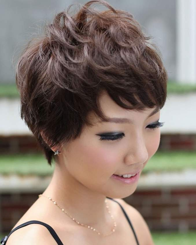 Image Result For Short Hairstyle Asian