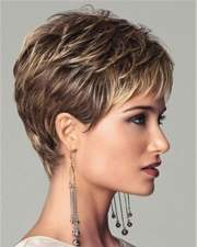 short haircuts and make- preferences