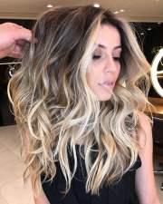 2018 balayage hairstyles long