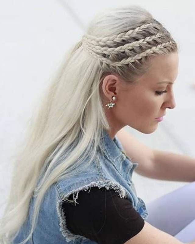2018 christmas hairstyles: braided hairstyles for the 2018