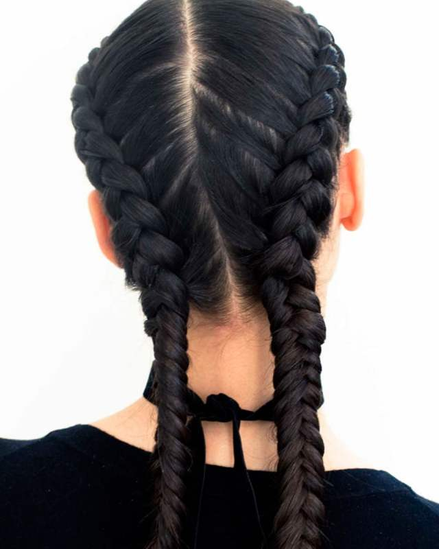 french braids 2018 (mermaid, half-up, side, fishtail etc
