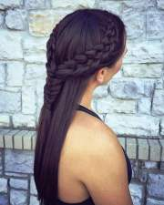 2018 french braids two