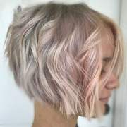 line bob haircuts & hair colors