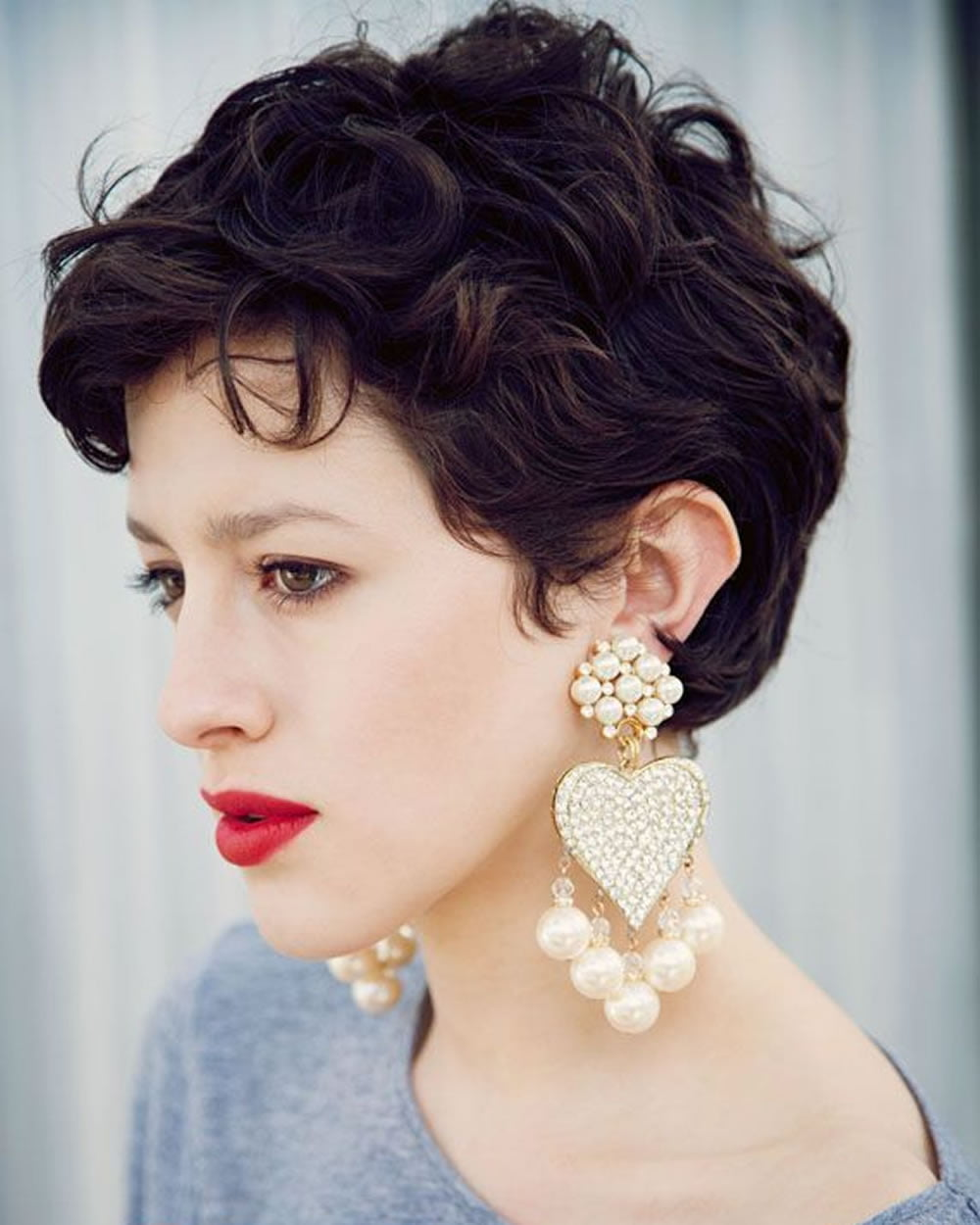 Short Curly Pixie Haircuts 2017