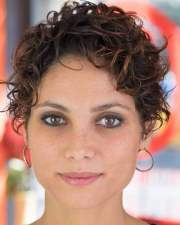 curly pixie haircuts 2018 &