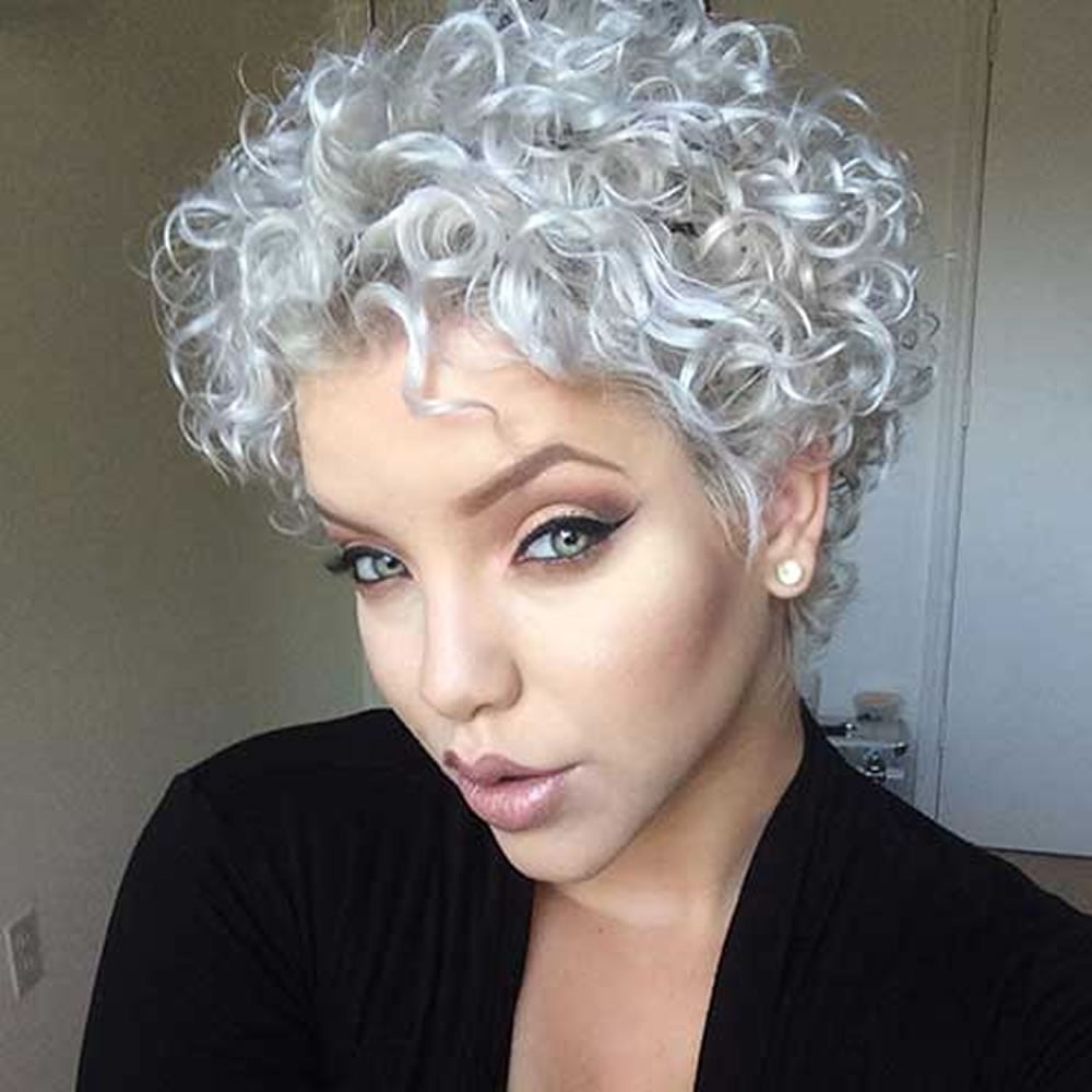 Curly Pixie Haircuts for 2018  Pixie Short Hairstyle