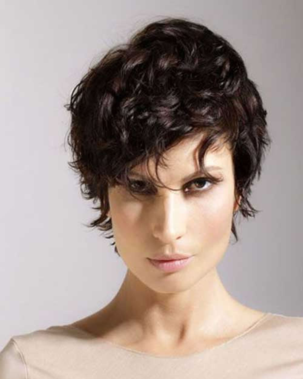 Curly Pixie Haircuts For 2018 Amp Pixie Short Hairstyle