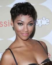 feminine pixie hairstyles black