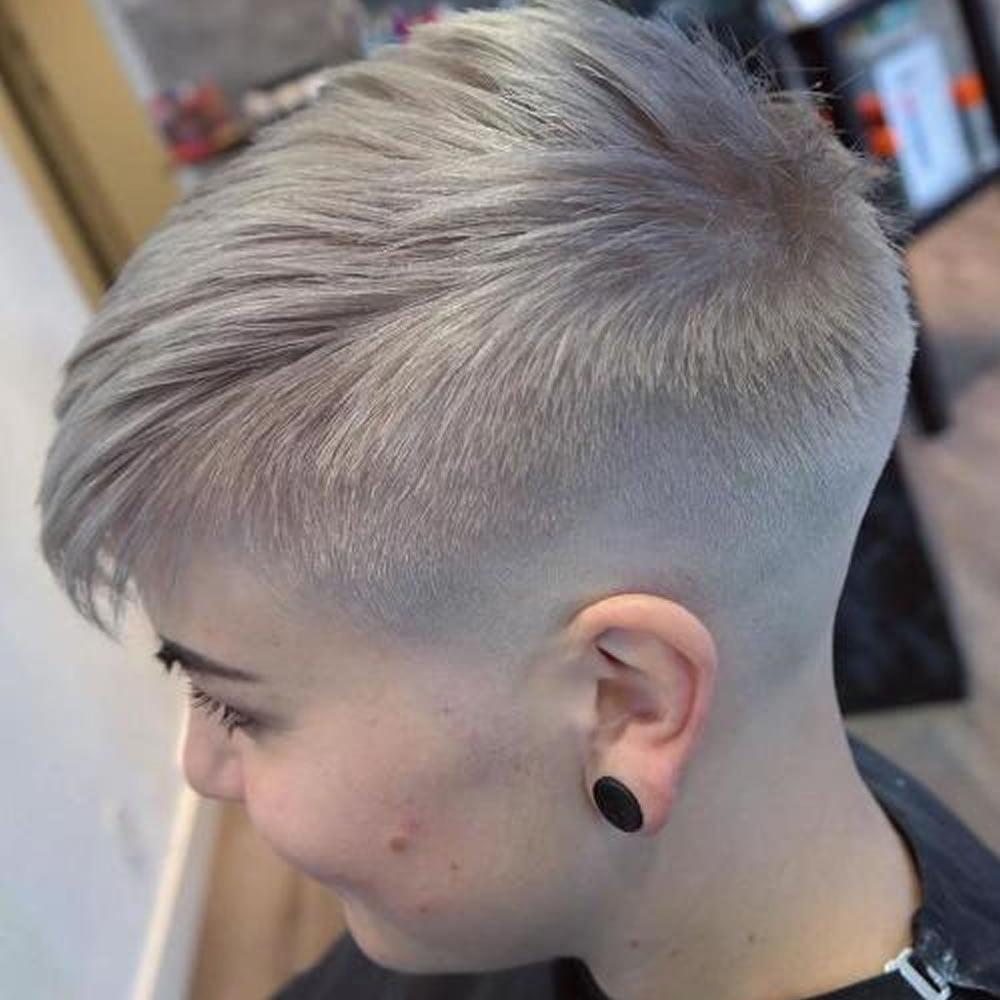Undercut Short Pixie Hairstyles For Ladies 2018 2019