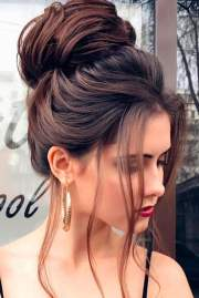 christmas party hairstyles