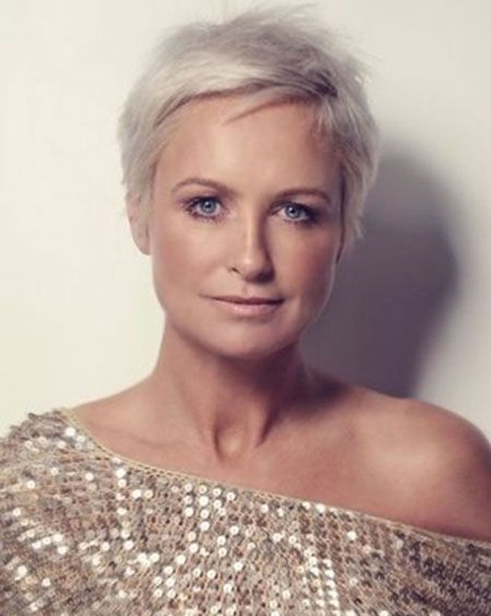 25 Easy Short Pixie  Bob Haircuts for Older Women Over 50