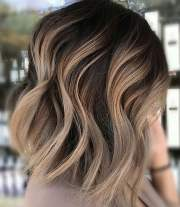 ombre short hairstyles 2018-trend