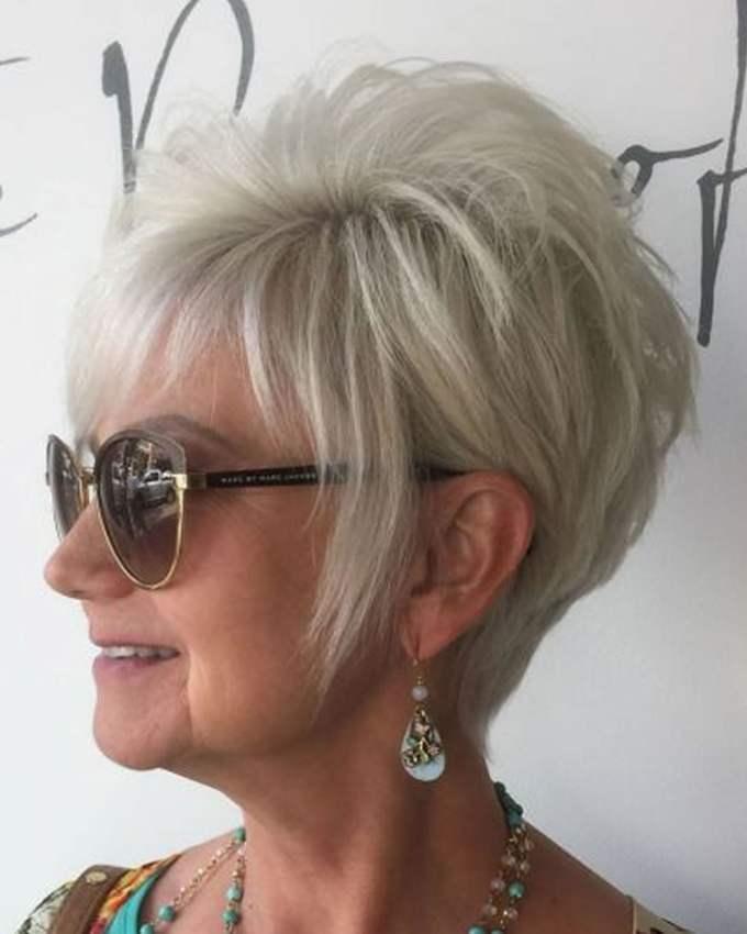 pixie short haircuts for older women over 50 & 2018-2019 short
