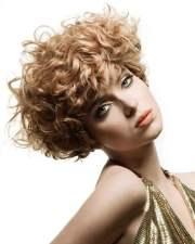 curly wavy short haircuts