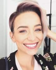 trendy short hair cut 2018
