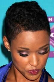 short haircuts african american