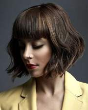 top medium bob haircuts & layered
