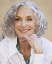 Short Gray Hairstyles for Older Women Over 50  Gray Hair ...