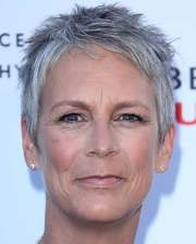 short gray hairstyles older