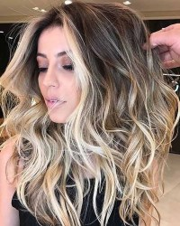 Balayage Ombre Highlights 2018: Dark, Brunette, Blonde etc