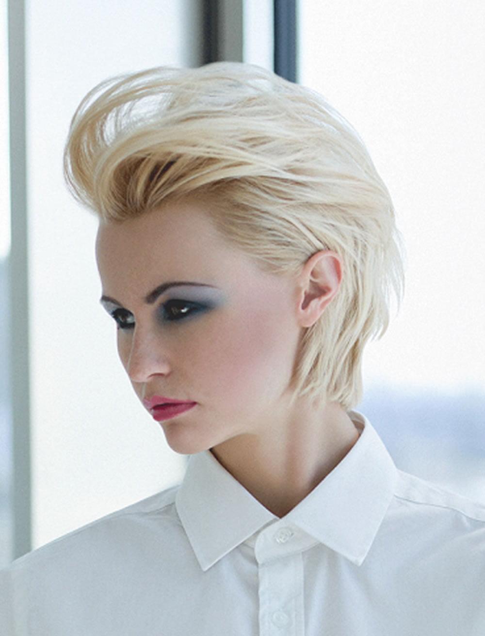 Easy Hairstyles for Short Hair 20182019  Pixie Hair Cuts