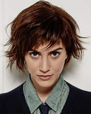 latest short haircuts women