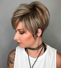 Layered Haircuts for Short Hair 2018 - Hair Colors for Women