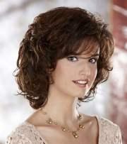 trendy curly bob haircuts