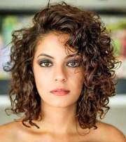 trendy curly bob haircuts