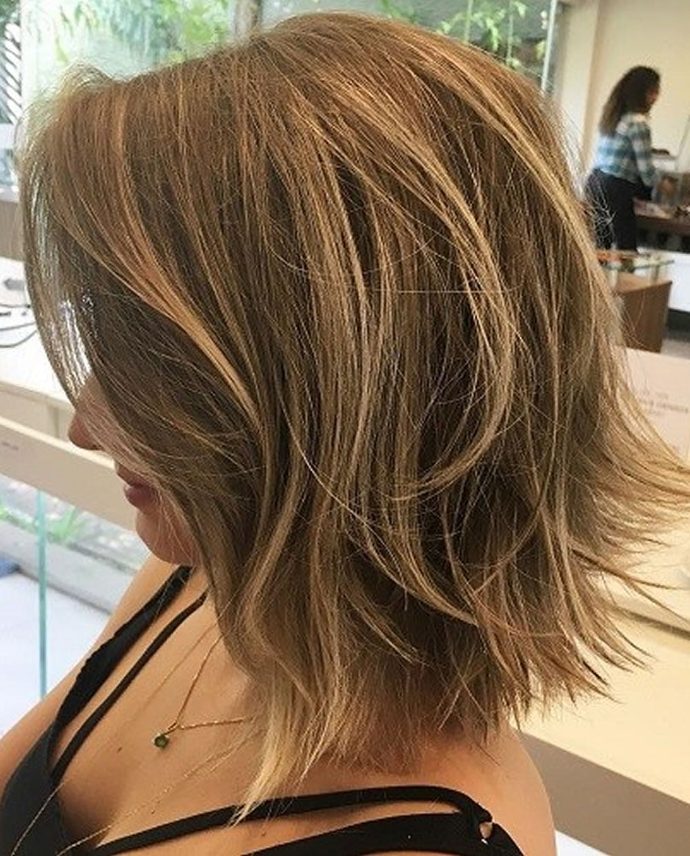 Layered Long Bob Hairstyles and Lob Haircuts 2018  HAIRSTYLES