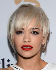 rita ora short hairstyles pixie