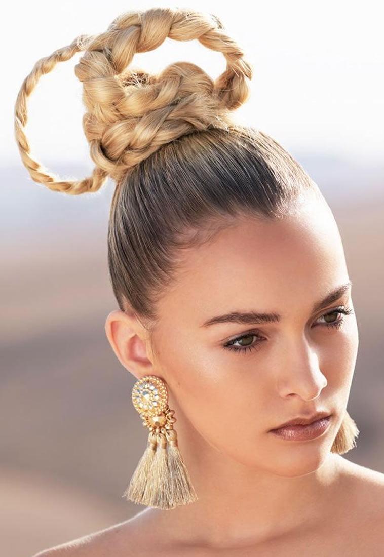 2018 Prom Hair How To Bun Hair Tutorial Hair Colour