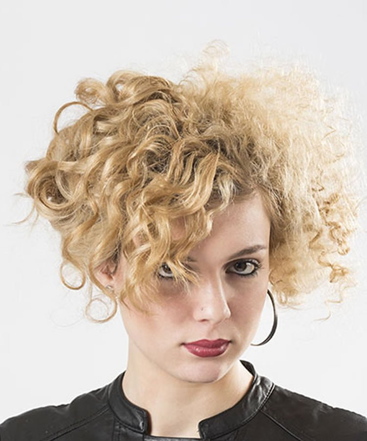 Curly Hair 2019 Models Suitable For Womens Face Shapes