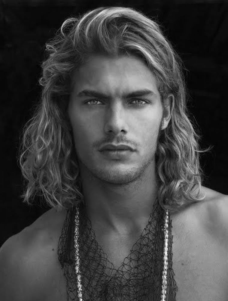 Long Hairstyles for Men 2019  How to Style Long Hair for Guys  Page 5  HAIRSTYLES