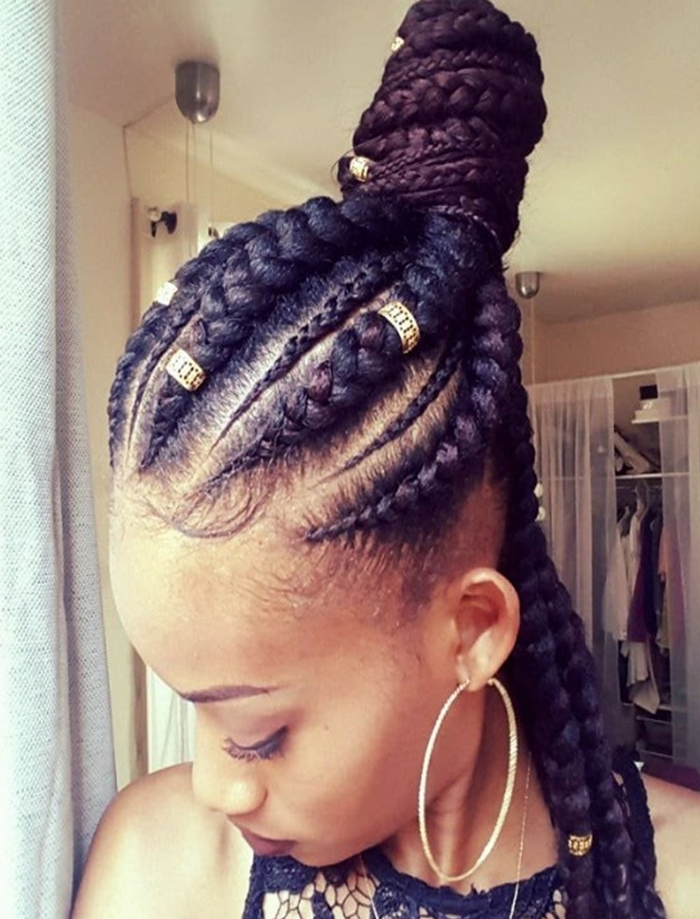 2019 Ghana Braids Hairstyles For Black Women Page 5