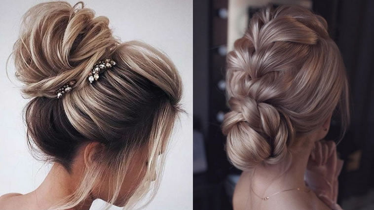 2019 Wedding Hairstyles Amp Updo And Low Bun Bridal