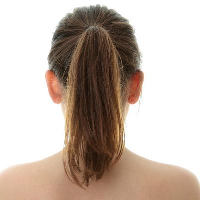 UShaped Back Long Hair Haircut  From All Angles