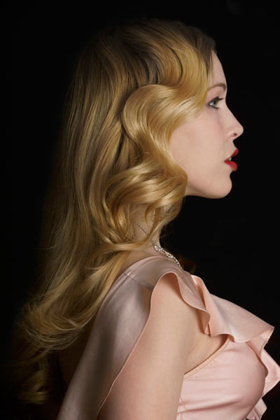 Vintage Hairstyles Veronica Lake Curls